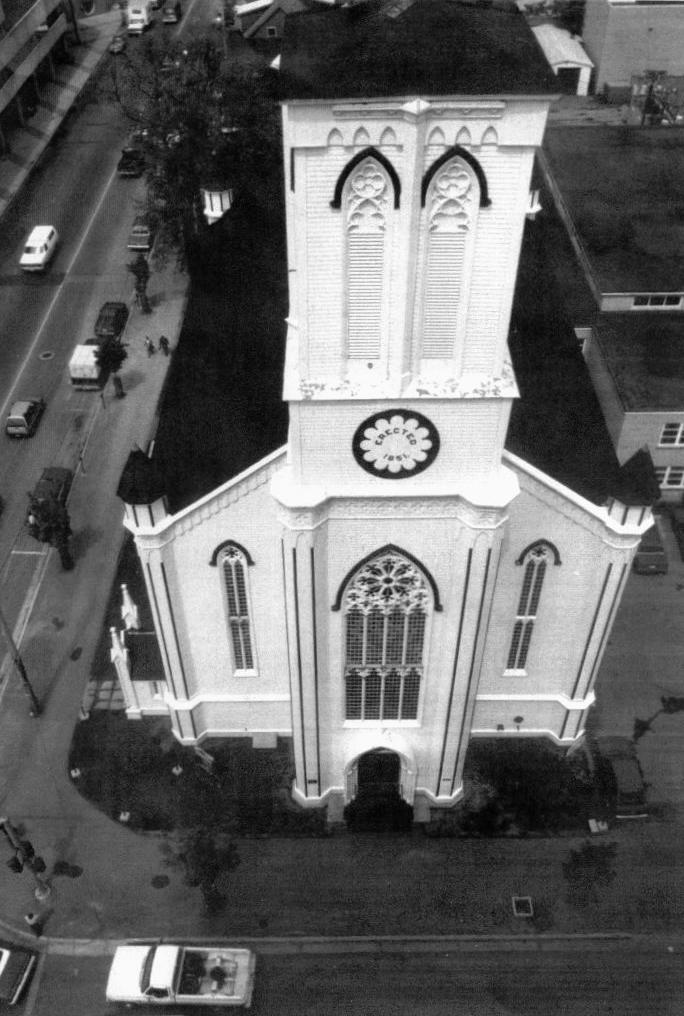 Photo - Church exterior from above